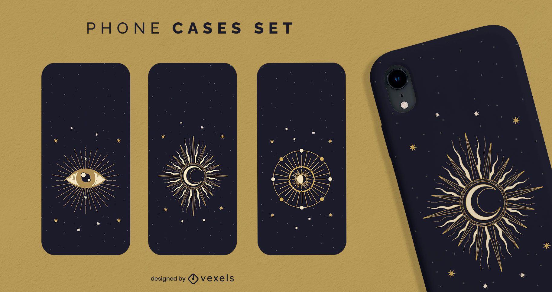 Telefonischer Fall der mystischen Astrologie