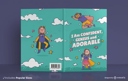Diseño de portada de libro para niños seguros