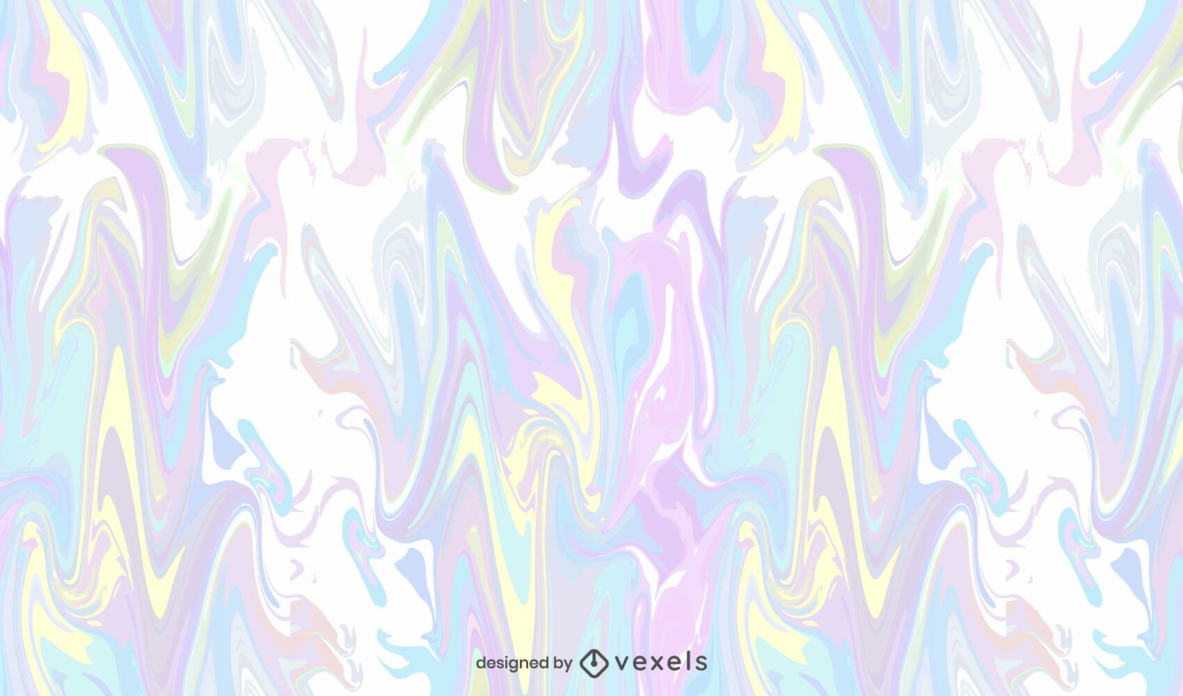 Desenho de padrão tie-dye pastel