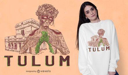 Diseño de camiseta Tulum