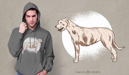 Irish Wolfhound T-Shirt Design