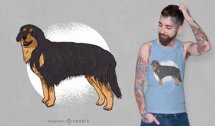 Diseño de camiseta de Hovawart