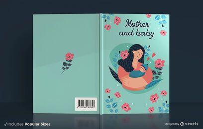Mutter und Baby Buchumschlag Design