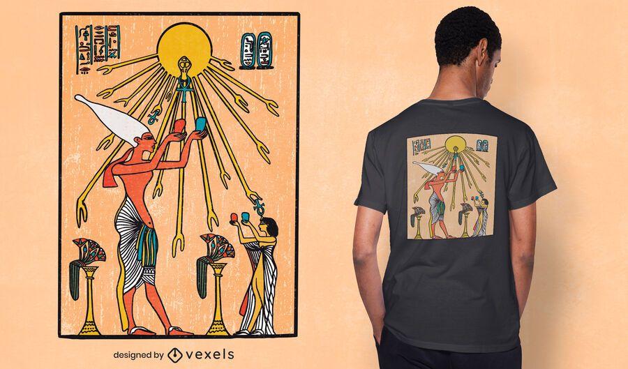 Aten egypt t-shirt design