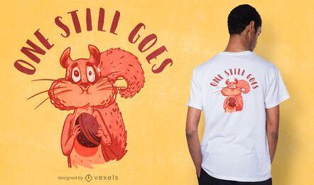 Ainda se segue o design de camisetas