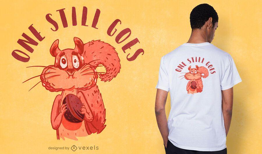 Uno todavía va diseño de camiseta
