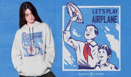 Propaganda zeppelin t-shirt design