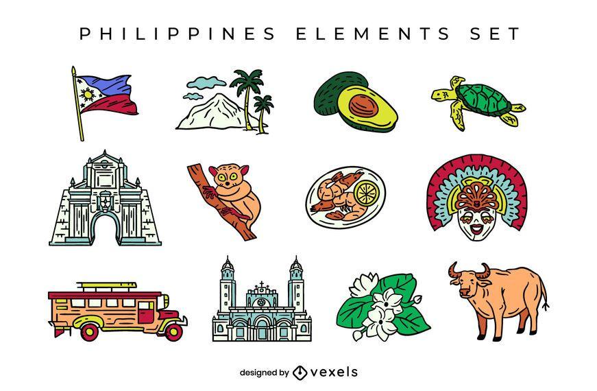 Philippines elements set design