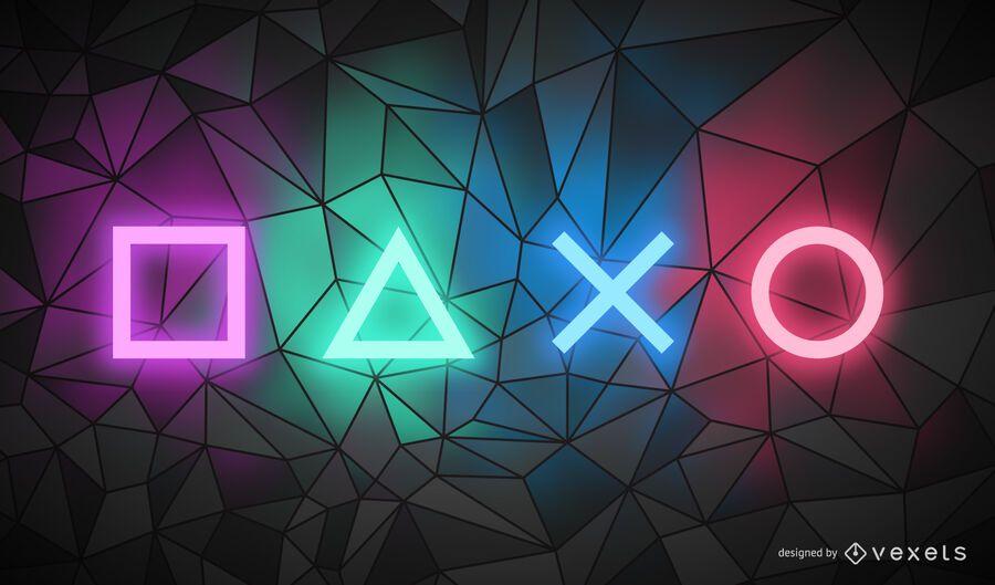 Game controller polygonal