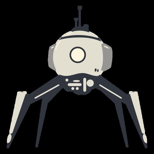 Carácter de robot tipo arácnido