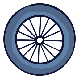 Bicycle wheel flat
