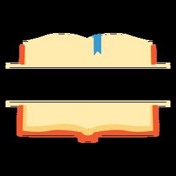 Ícone de divisão de livro