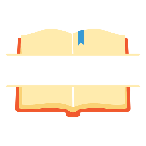 Icono de libro dividido