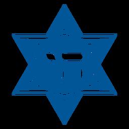 Chai star cut out badge