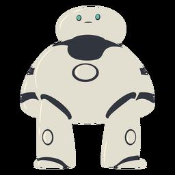 Carácter de robot gordito