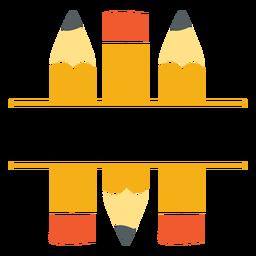 Split-Symbol für klassische Stifte