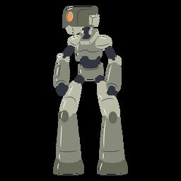 Carácter de robot cíclope