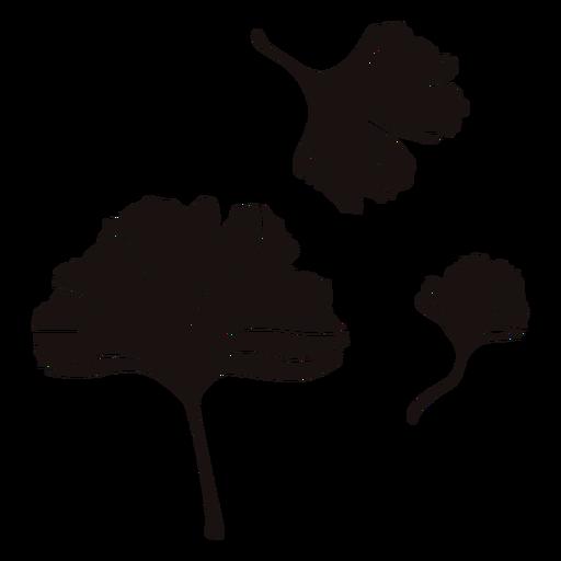 Traço da natureza da folha da flor