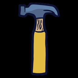 Herramienta de martillo plana