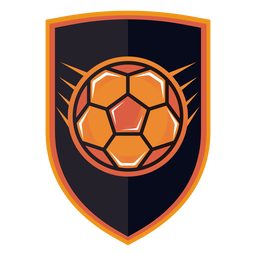 Logotipo do emblema de handebol