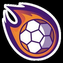 Logotipo da bola de handebol