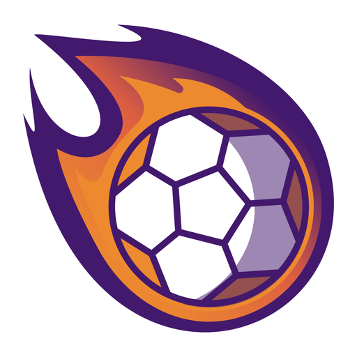 Handball ball fire logo Transparent PNG