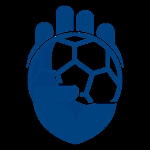 Handball hand logo Transparent PNG
