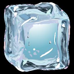 Cubo de hielo realista