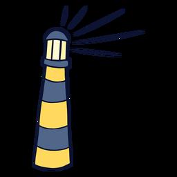 Faro luminoso plano