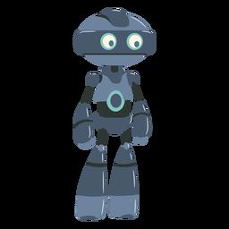 Pequeño personaje de ilustración de robot