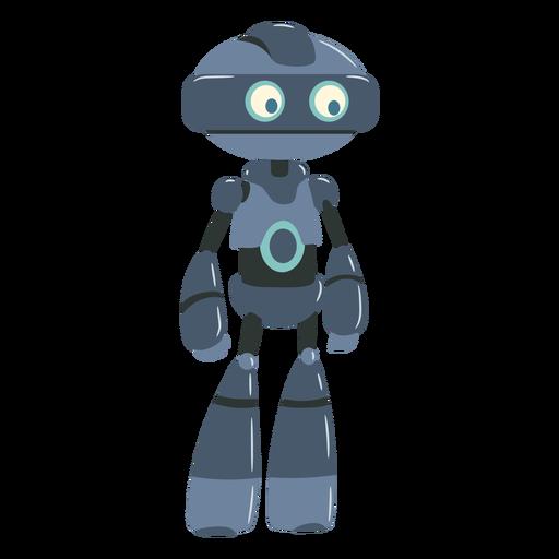 Little robot illustration character