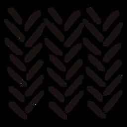 Traço de composição de linhas de marcador