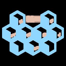 Conceitos do hexaedro matemático