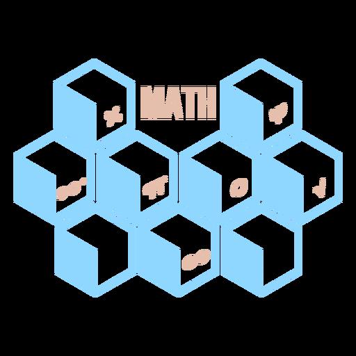 Math hexahedron concepts