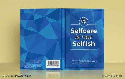 Design de capa de livro de autocuidado