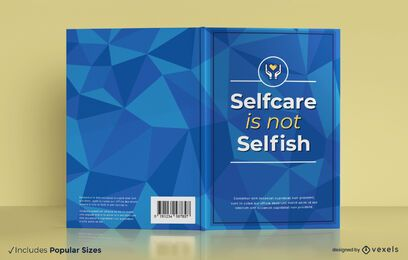 Selfcare book cover design