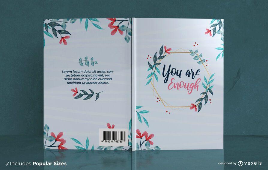 Você é o suficiente design de capa de livro