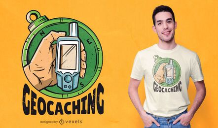 Geocaching T-Shirt Design