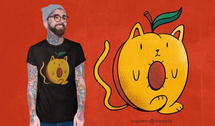 Design de camiseta de Apricat
