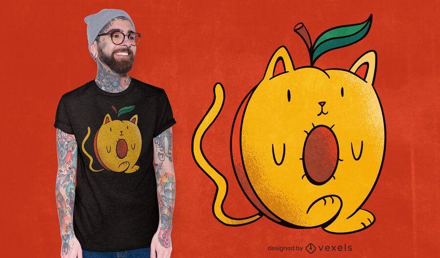 Diseño de camiseta Apricat
