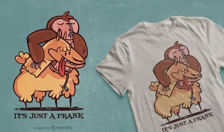 Nur ein Streich T-Shirt Design