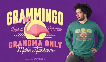 Diseño de camiseta Grammingo