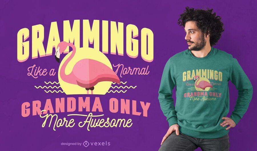 Grammingo t-shirt design