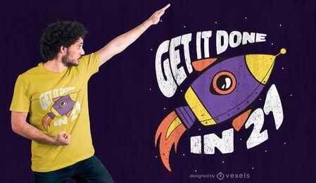 Hazlo hecho diseño de camiseta