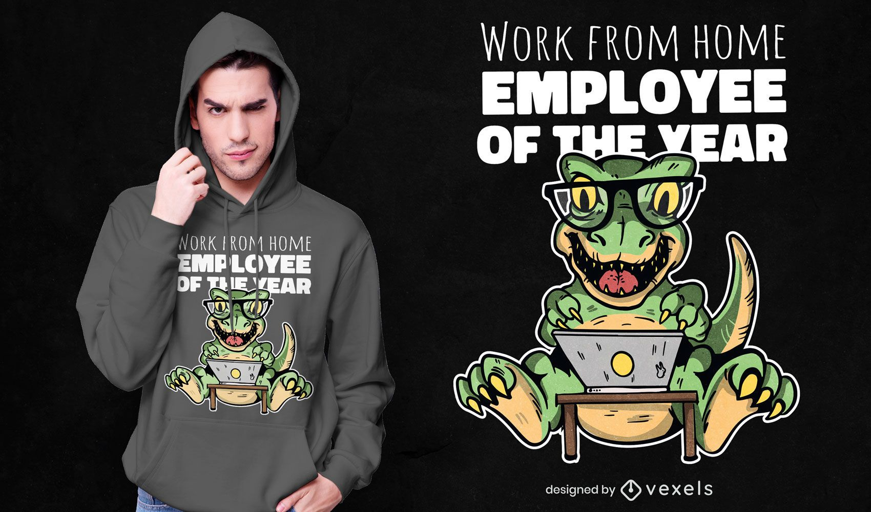 Employee of the year t-shirt design