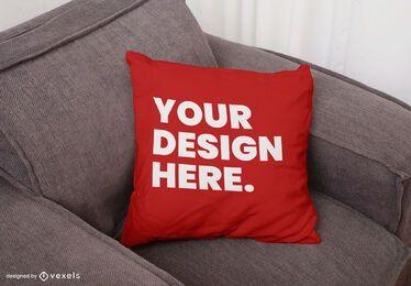 Kissen-Sofa-Modellentwurf werfen