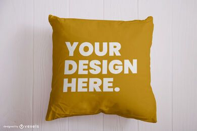 Pillow mockup design psd