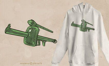 Design de camiseta Panzerschreck