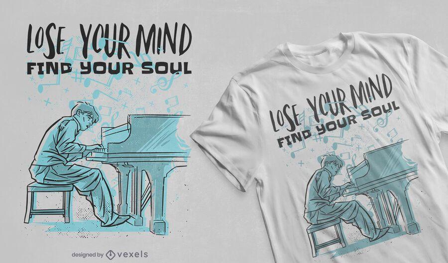 Encuentra tu diseño de camiseta de alma