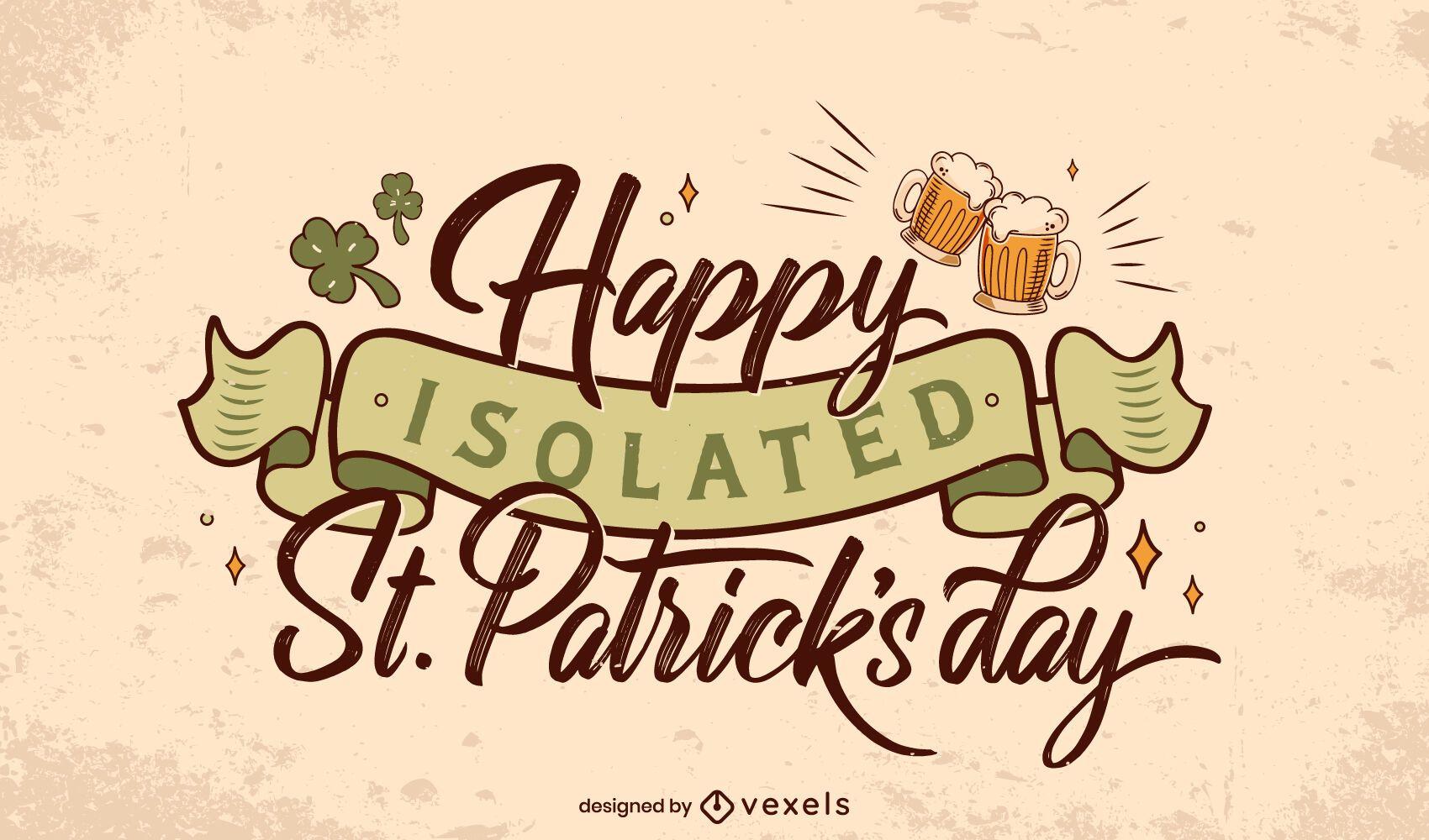 St Patricks letras aisladas
